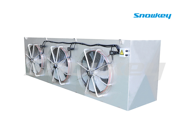 Air cooler for ammonia