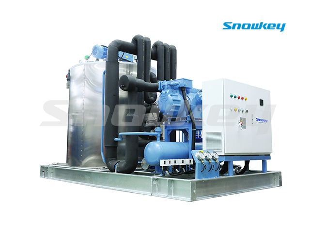 Slurry Ice Machine for Sea Water on Land Using S375W (37.5T/D)