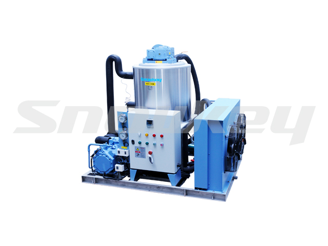 Slurry Ice Machine for Sea Water on Land Using S50W (5T/D)